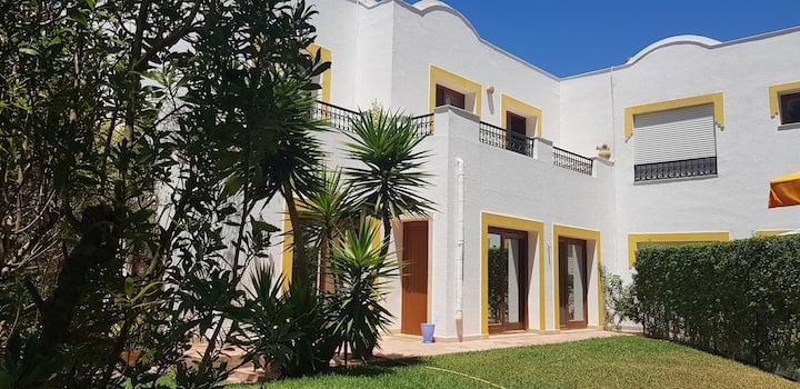 Belle villa à proximité d'une très belles plage