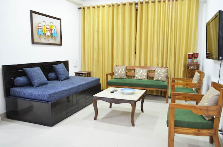 Corona sterilized 1BHK Prime Location South Delhi2