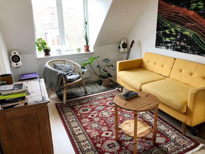 Charmerende lejlighed i hjertet af Frederiksbjerg