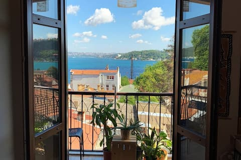 Sunny, comfortable, full sea view apartment