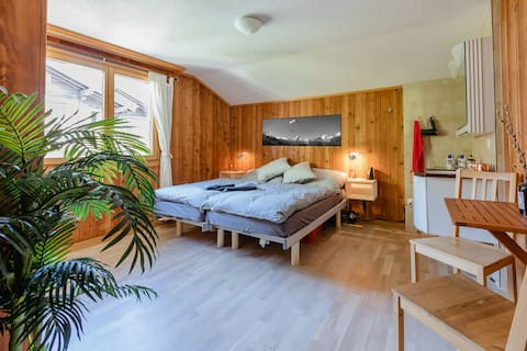 Private Room North + Chalet+Fast WIFI+Central