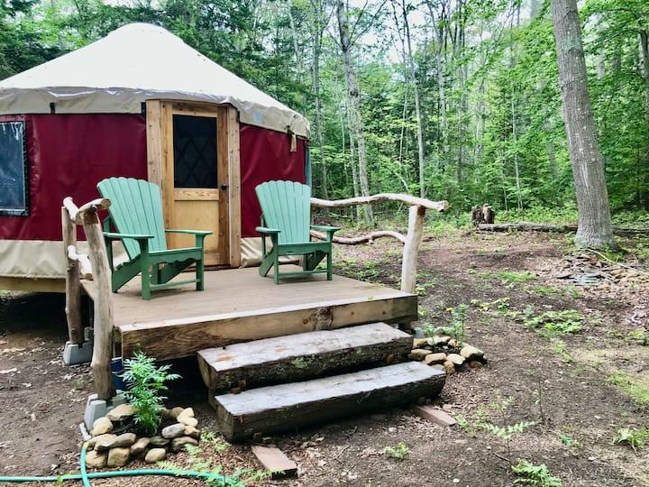 Island Yurt on Chebeague Island