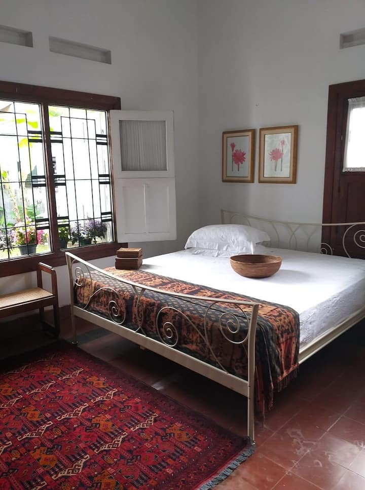 SUMBA IN THE BEDROOM. Room @Malang Holiday Mansion