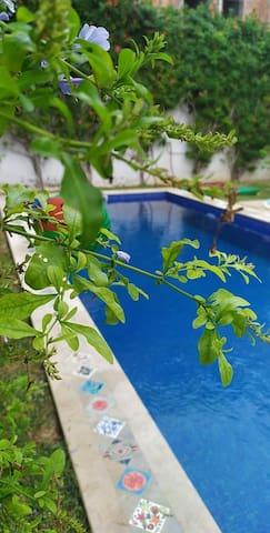 Villa Happiness avec piscine a 5 mnt de la plage