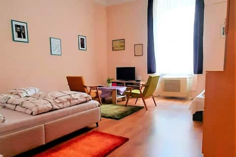 Győr city  center, studio apartment