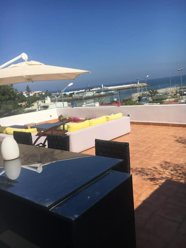 Beachfront Villa Harhoura /Rabat-  Long Term Rent