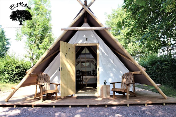 La tente d'Harry - Gîte insolite à la campagne