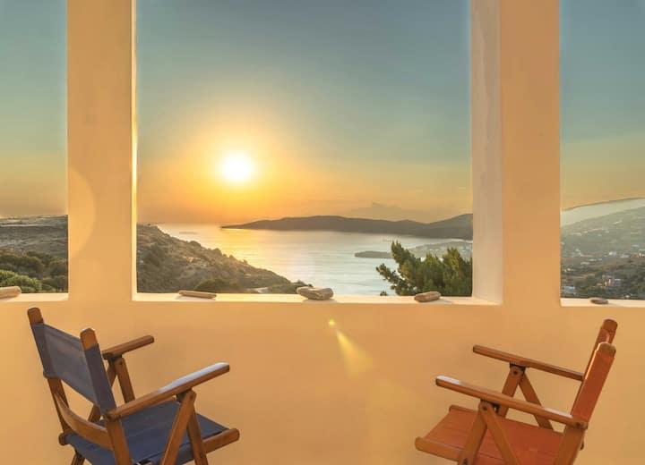 "The ""Lime"" Maisonette - Amazing Sunset Views"