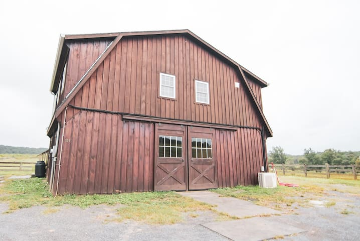 The Scottsville Brown Barn on The Sheep Farm