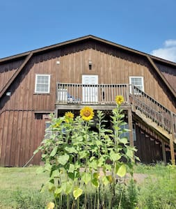 The Scottsville Brown Barn on The Sheep Farm