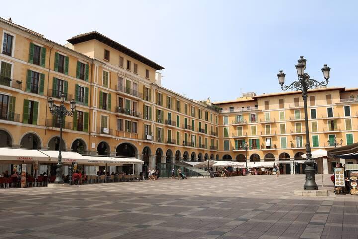 Main Square Apartment, Palme de Majorca