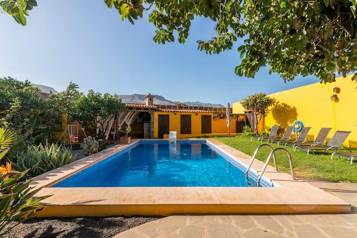 Villa de lujo con piscina privada y barbacoa 10 pax