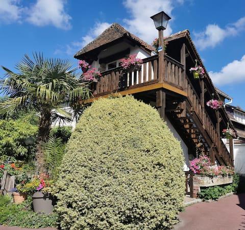 Gite Le Balcon Flaubert, véritable nid de bonheur