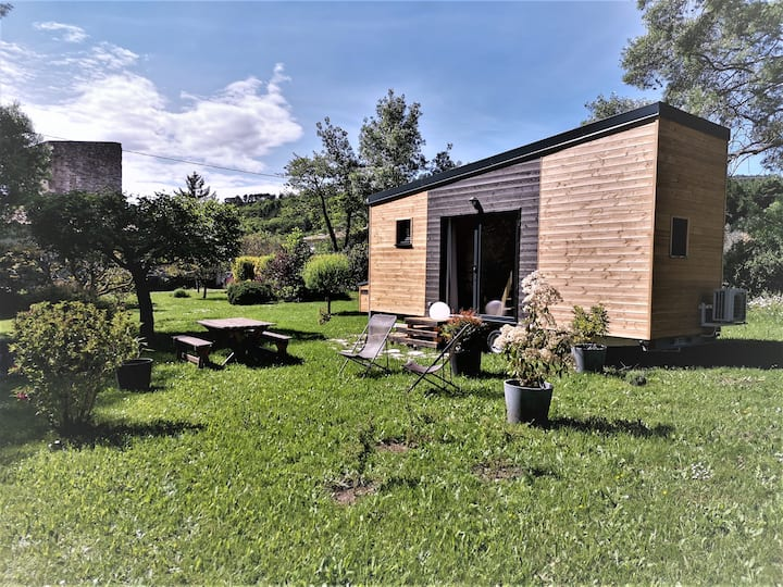 Le Poët-Laval: tiny house avec jardin