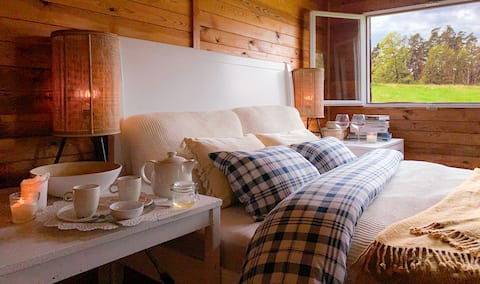 Malý Oslov Glamping - Chalet for 4 guests