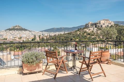 Exclusive view apartment next to Acropolis