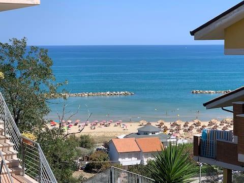 Duplex with amazing sea view terrace