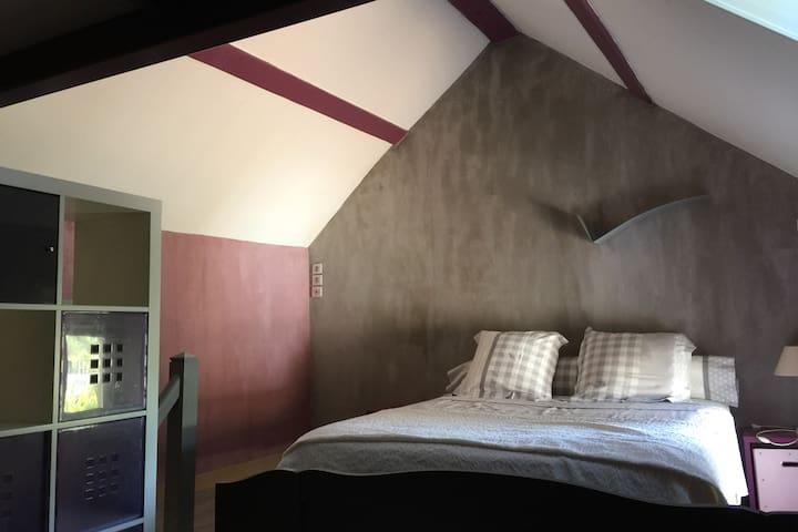 chambre familiale avec possibilité 3 couchages 1 lit 160/200 1 lit 90/190