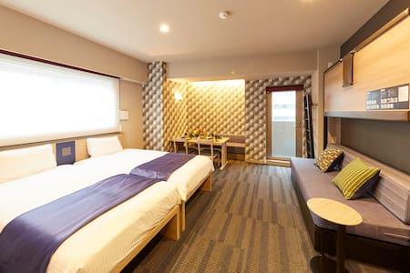 [Hotel Monday Apart Daimon] Deluxe Twin Room