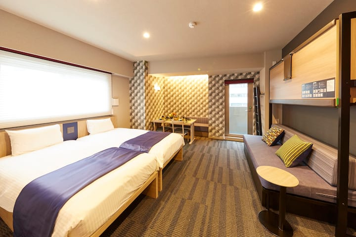 [Hotel Monday Apart Daimon] Deluxe Twin Room