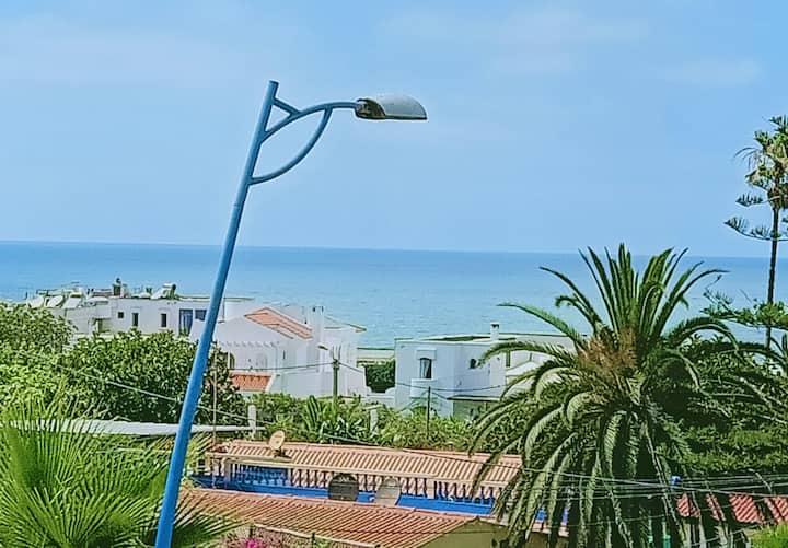 Appartement de Luxe avec vue Mer face à la plage
