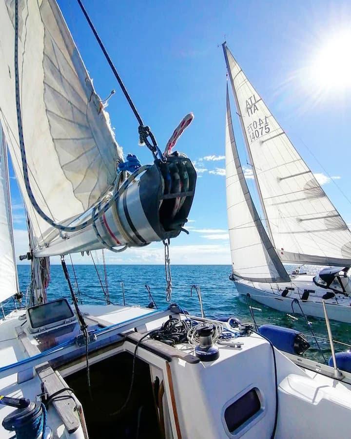 Sailboat 36ft LaSpezia Cinqueterre