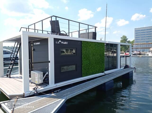 Houseboat Dom na wodzie - Gdynia - Modern 1