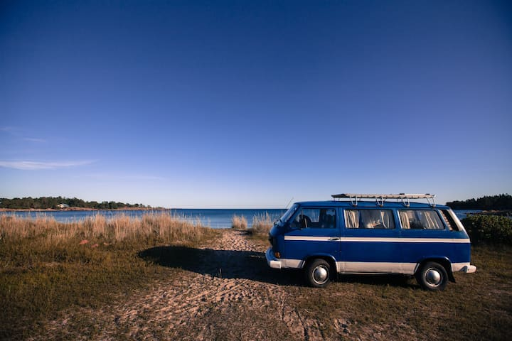 Vanlife Åland - discover Åland in a classic VW
