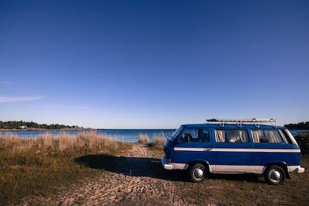 Skärgårdsbussen - discover Åland in a classic VW