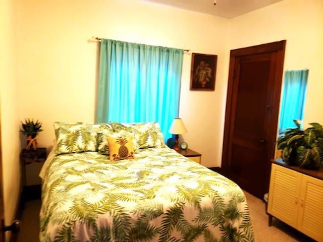 Main Floor Bedroom with Full Bed