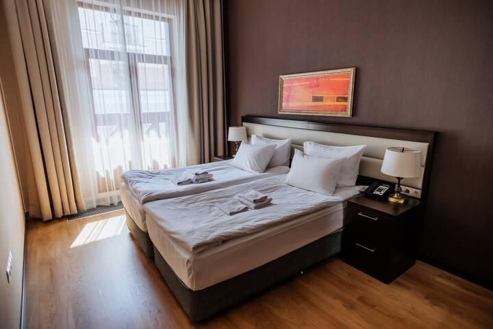 Апартаменты 2 спальни + Канатная дорога (до 4 чел)