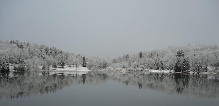 Marble Lake - Fall Softly snow...