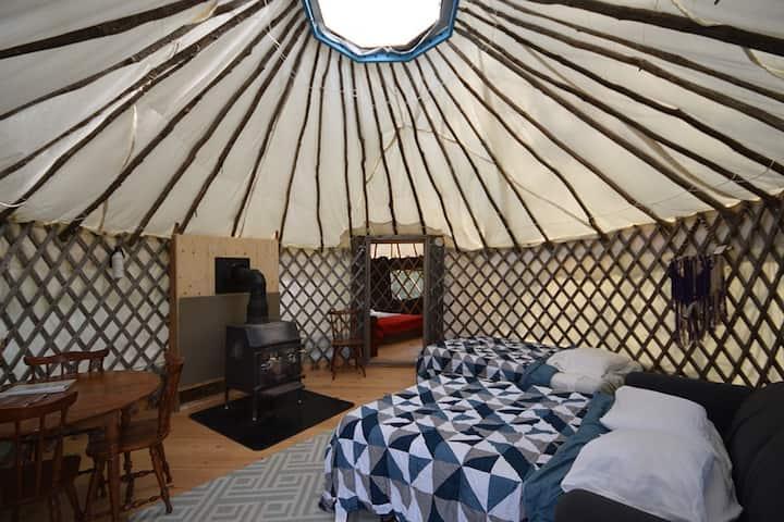 Small Farm Yurt Experience