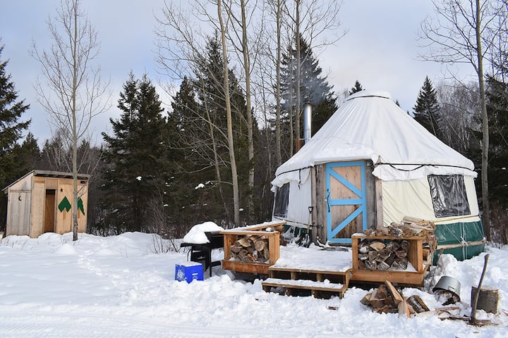 Yurt Experience on a Heritage Farm