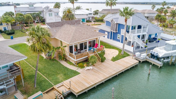 Key Allegro Waterfront Home, w/ Breathtaking View