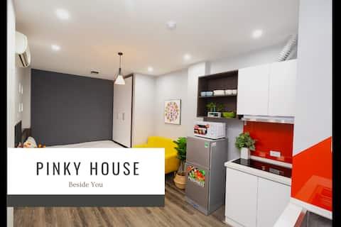 Pinky House 2.3-Cozy Stu*Free Gym* Hoang Cau lake