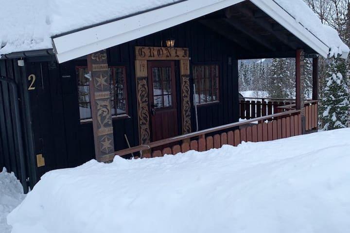 Beautiful cottage with Sauna at Øyangen Beito