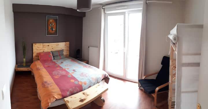 Ensisheim: appartement F3bis spacieux au calme