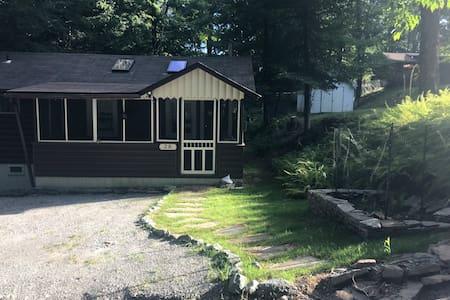 Peaceful nature cabin
