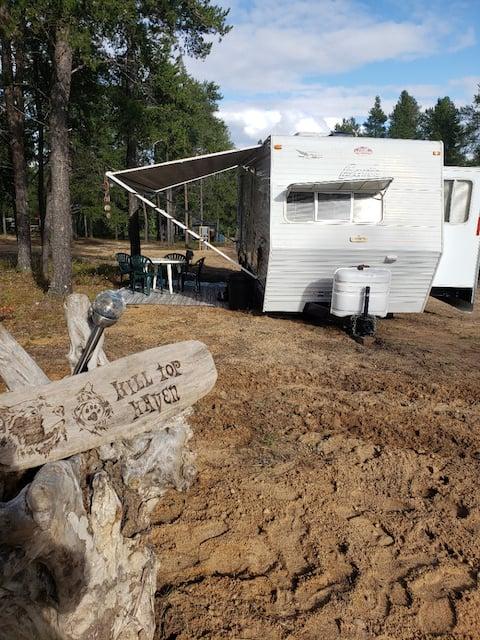 Hillside Camping Retreat