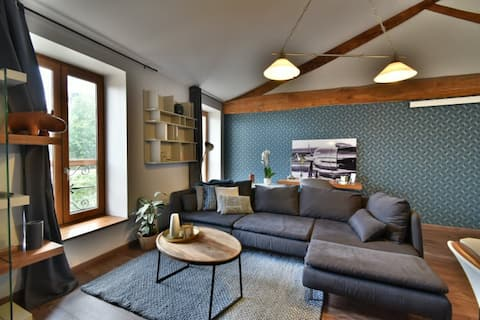 Cozy & warm appartment located in Vaulx-Milieu