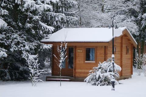 Cozy blokhutje/tinyhouse in de Brabantse natuur 02
