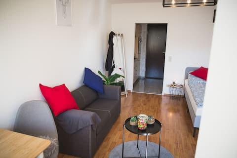 Stuttgart yakınlarında rahat bir daire