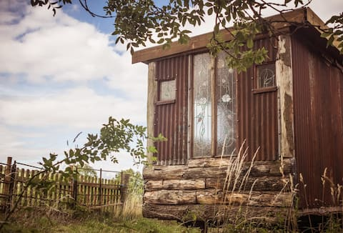 Truly remote and unique Shepherd's Hut