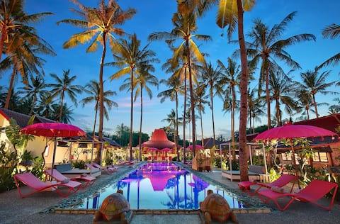 Pinkcoco Gili Air - Joglo 2 Bedroom Villa