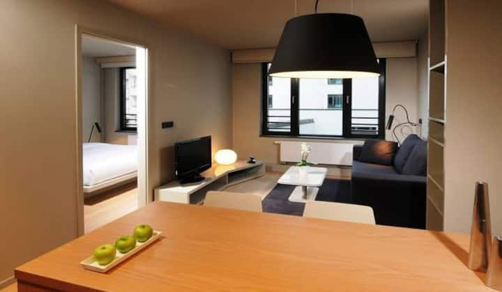 Suite Home One-bedroom Apartment @SANA Hotel