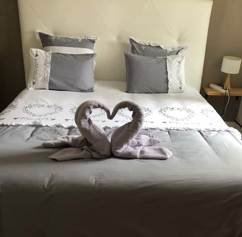 Chambre romantique dans maison de caratère