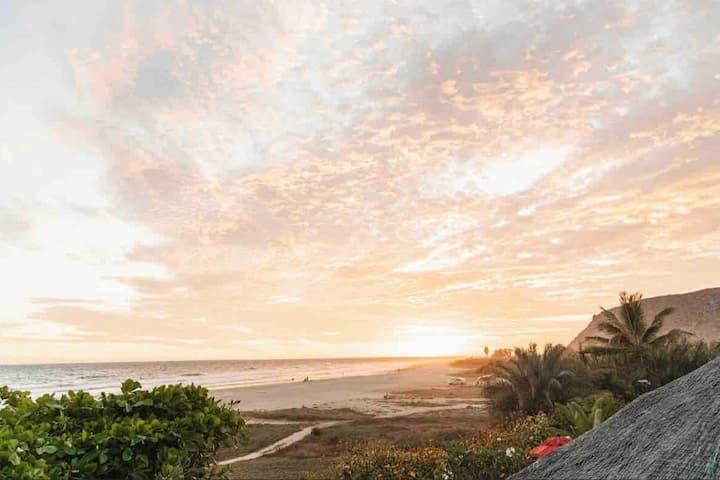 BEACH FRONT! Baja Surf Casitas ~Double suite W/BR!