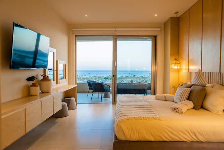 New modern condo! Best View in CABO. 3Br/3.5BA/AC