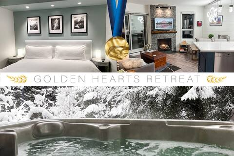 ❄️ GOLDEN HEARTS ❄️ 2010 Olympic Retreat w/HOT TUB!